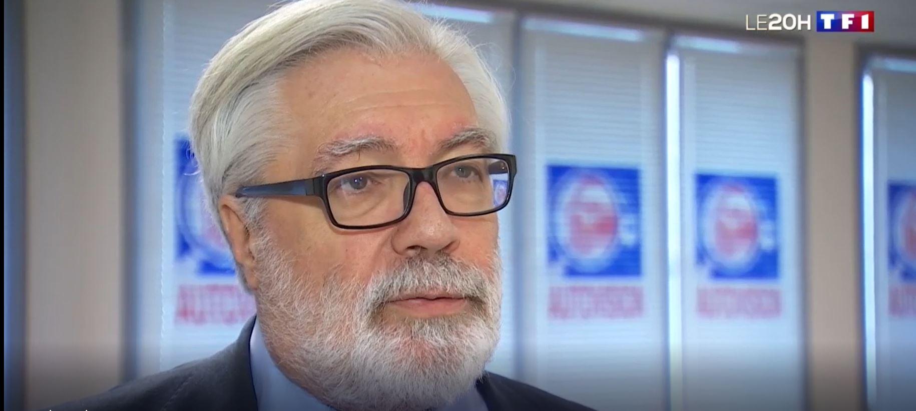 Bernard Bourrier sur TF1